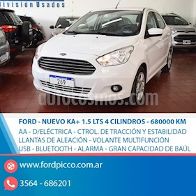 Ford Ka Freestyle 1.5L usado (2017) color Blanco