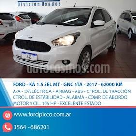 Ford Ka Freestyle 1.5L usado (2017) color Blanco