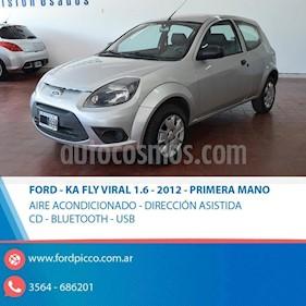 Foto venta Auto usado Ford Ka 1.0 Fly (2012) color Gris Claro precio $225.000