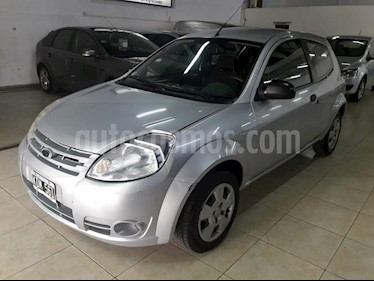 Foto venta Auto Usado Ford Ka 1.0L Fly Plus (2011) color Plata Metalico