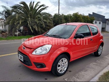 Foto venta Auto usado Ford Ka 1.0L Fly Plus (2013) color Rojo Sport precio $110.000