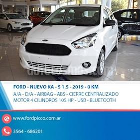Foto venta Auto usado Ford Ka 1.5L S (2019) color Blanco