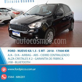Foto venta Auto usado Ford Ka 1.5L S (2018) color Negro precio $470.000