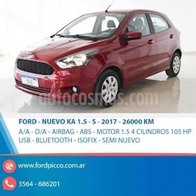 Foto venta Auto usado Ford Ka 1.5L S (2017) color Rojo precio $435.000