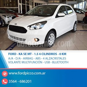 Foto venta Auto usado Ford Ka 1.5L SE (2019) color Blanco
