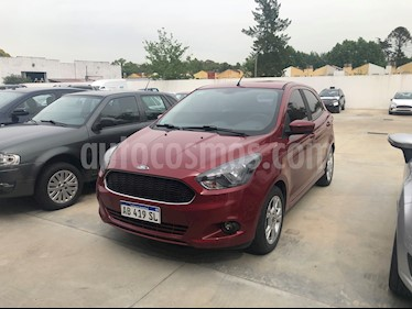 Ford Ka 1.5L SEL usado (2017) color Rojo Merlot precio $605.000