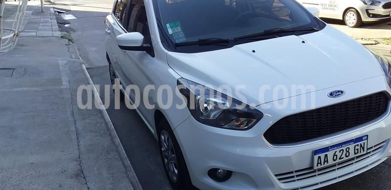Ford Ka 1.5L S usado (2016) color Blanco Oxford precio $620.000