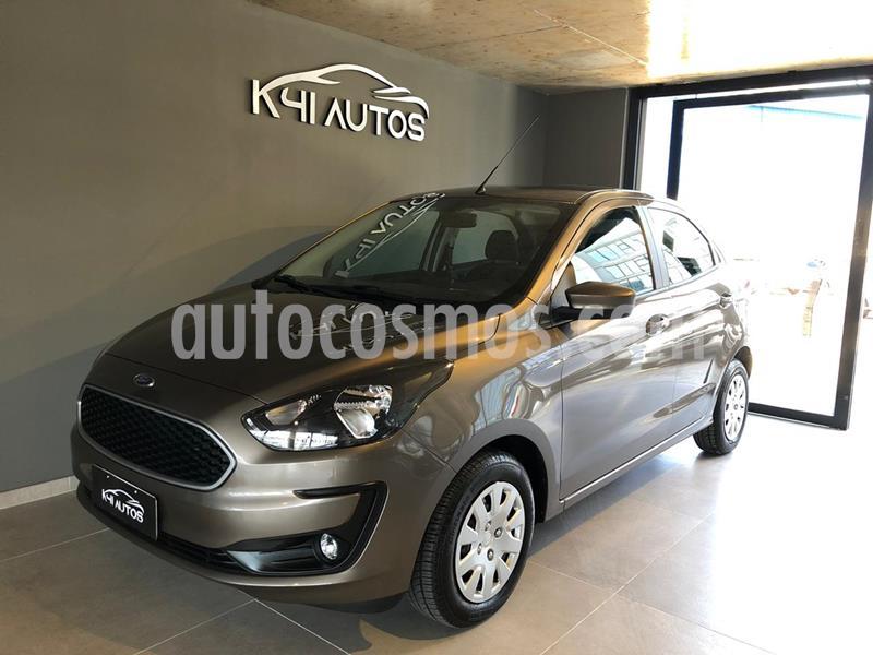 Ford Ka 1.5L SE usado (2020) color Gris Piedra precio u$s8.182