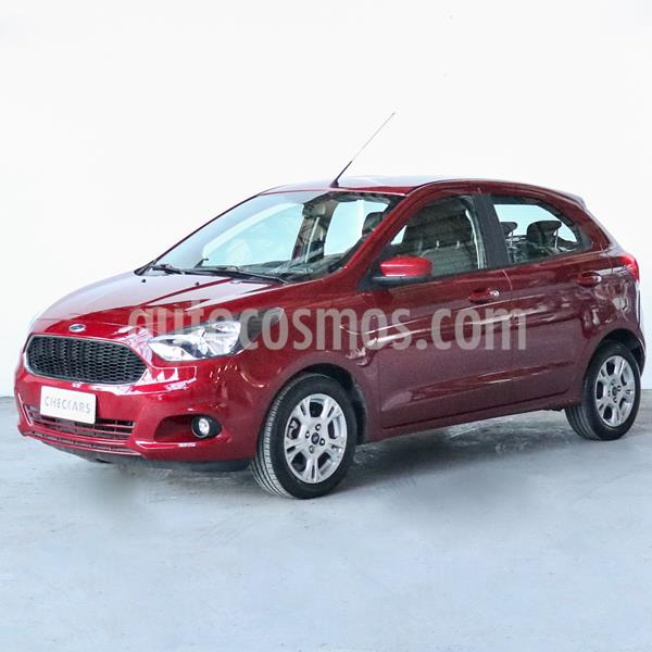 Ford Ka 1.5L SEL usado (2017) color Rojo Merlot precio $803.000