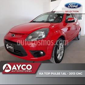 Ford Ka 1.6L Top Pulse usado (2013) color Rojo