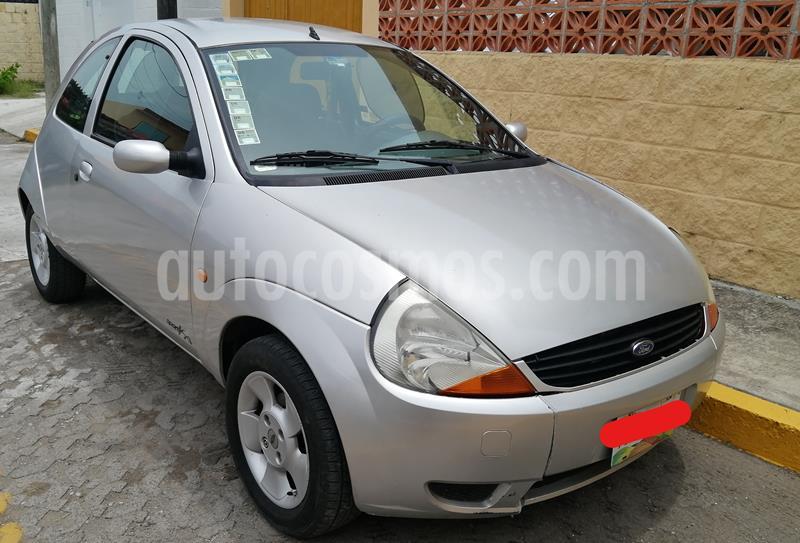 Ford Ka 1.6 Equipado y ABG usado (2003) color Gris Plata  precio $35,000