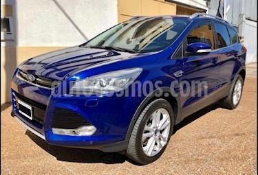 Foto venta Auto usado Ford Kuga Titanium Aut (2016) color Azul Baltico precio $1.100.000