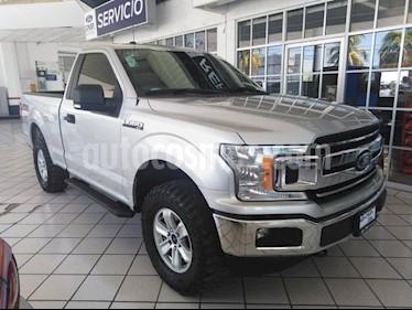 Foto venta Auto usado Ford Lobo 2 PTS. CABINA REGULAR XLT, 5.4L, 310 HP, TA, 4X4 (2018) color Plata precio $565,000