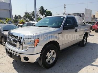Foto venta Auto usado Ford Lobo 2 PTS. CABINA REGULAR XLT, TA (2013) color Plata Estelar precio $237,500