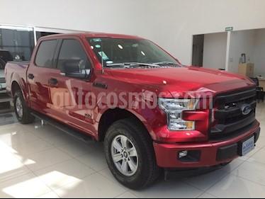 Foto venta Auto usado Ford Lobo 4 PTS. CREW CAB XLT, TA, 4X4 (2017) color Rojo precio $610,000