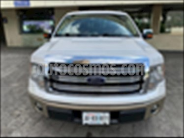 Ford Lobo 4P KING RANCH CREW CAB 4X4 usado (2011) color Blanco precio $379,000