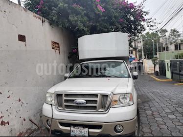 Foto venta Auto usado Ford Lobo Doble Cabina King Ranch (2007) color Blanco Oxford precio $160,000