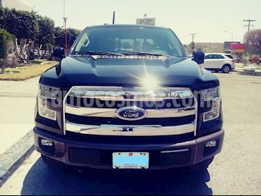 Foto venta Auto usado Ford Lobo Doble Cabina Lariat 4x4 (2017) color Negro precio $615,000