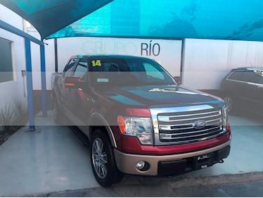 Foto venta Auto usado Ford Lobo Doble Cabina Lariat 4x4 (2014) color Rojo Rubi precio $390,000