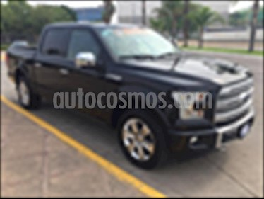 Ford Lobo DOBLE CABINA PLATINUM 4X4 ECOBOOST usado (2017) color Negro precio $650,000