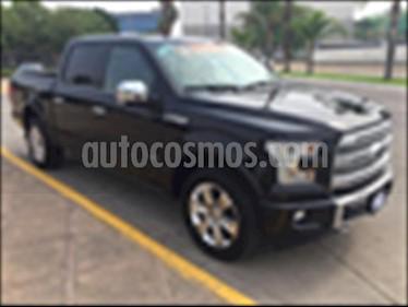 Foto Ford Lobo DOBLE CABINA PLATINUM 4X4 ECOBOOST usado (2017) color Negro precio $650,000