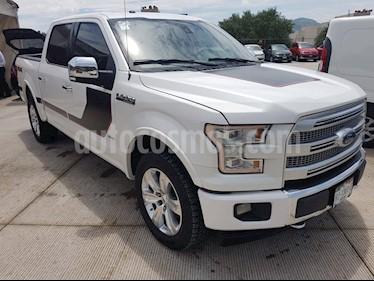 Foto venta Auto usado Ford Lobo Doble Cabina Platinum 4x4 (2017) color Blanco Platinado precio $575,000