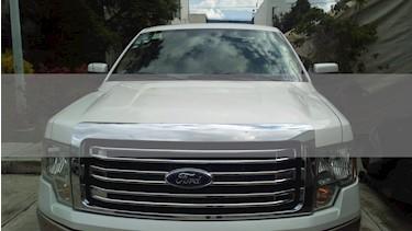 Ford Lobo Lariat 4x2 Cabina Doble usado (2013) color Blanco precio $299,000