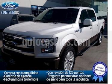 Foto venta Auto Seminuevo Ford Lobo Lariat Crew Cab 4x4 (2015) color Blanco precio $520,000