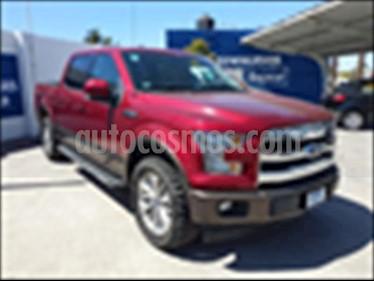 Ford Lobo Lariat Crew Cab 4x4 usado (2017) color Rojo precio $670,000