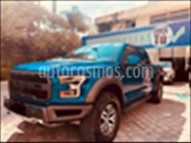Ford Lobo LIMITED CREW CAB 4X4 usado (2017) color Azul Electrico precio $1,050,000