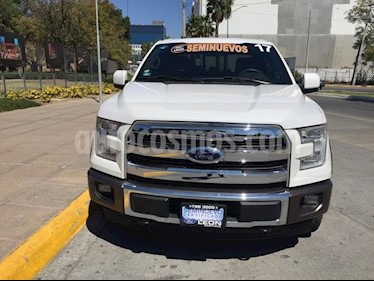 Foto venta Auto usado Ford Lobo LOBO King Ranch Doble cabina 4x4 (2017) color Blanco precio $739,000