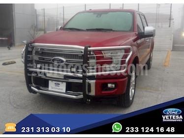 Foto venta Auto usado Ford Lobo LOBO PLATINUM 4x4 Doble Cabina (2017) precio $699,000
