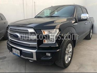 Foto venta Auto usado Ford Lobo LOBO PLATINUM 4x4 Doble Cabina (2016) color Negro precio $612,000