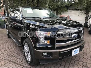 Foto venta Auto usado Ford Lobo LOBO XLT 4x4 Doble Cabina (2017) color Negro precio $649,000
