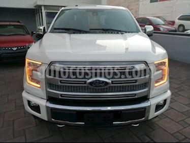 Ford Lobo Platinum Crew Cab 4x4 usado (2016) color Blanco precio $598,000
