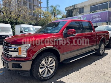 Ford Lobo Lariat 4x4 Cabina Doble usado (2018) color Rojo Rubi precio $669,000