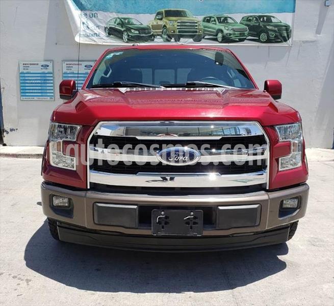 Ford Lobo XLT CREW CAB 4X2 usado (2017) color Rojo precio $560,000