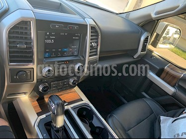 Ford Lobo Doble Cabina Lariat 4x2 usado (2017) color Blanco Oxford precio $550,000