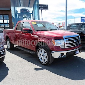 Ford Lobo LARIAT SUP CAB 4X2 usado (2013) color Rojo precio $296,000
