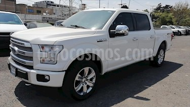 Ford Lobo Doble Cabina Platinum Limited usado (2017) color Blanco precio $670,000