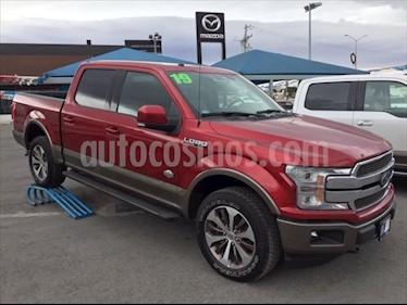 Ford Lobo KING RANCH usado (2019) color Rojo precio $838,000