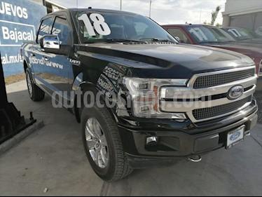 Ford Lobo Platinum Crew Cab 4x4 usado (2018) color Negro precio $735,000