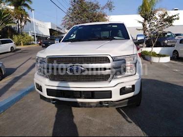 Ford Lobo 4p Platinum Doble Cab  V6/3.5 Aut 4x4 usado (2018) color Blanco precio $670,000