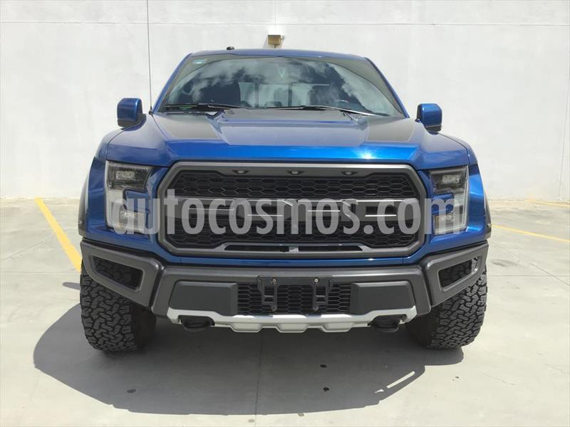 Ford Lobo XLT CREW CAB 4X4 usado (2018) color Azul Electrico precio $1,050,000