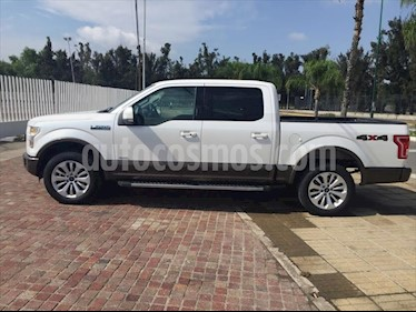 Ford Lobo LARIAT CREW CAB 4X4 CON SPRAY-IN BEDLINER usado (2016) color Blanco precio $499,000
