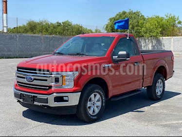 Ford Lobo Cabina Regular XLT 4x4 V8 usado (2020) color Rojo precio $763,551