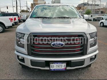 Ford Lobo LARIAT SPORT CREW CAB 4X4 usado (2017) color Plata precio $630,000