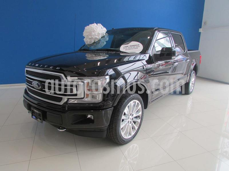 Ford Lobo Doble Cabina Platinum Limited usado (2019) color Negro precio $1,050,000