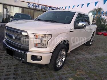 Ford Lobo Platinum 4x4 Cabina Doble usado (2015) color Blanco precio $445,000