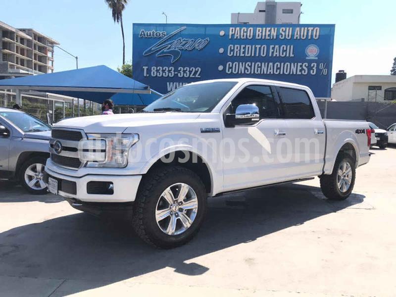 Foto Ford Lobo Platinum 4x4 Cabina Doble usado (2018) color Blanco precio $739,900